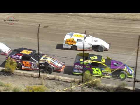 Desert Thunder Raceway Modified IMCA Heat Races 9/29/18-Day Race