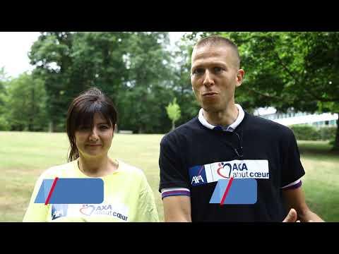 Matinée de team-buildings solidaires aux Universités d'été d'AXA France