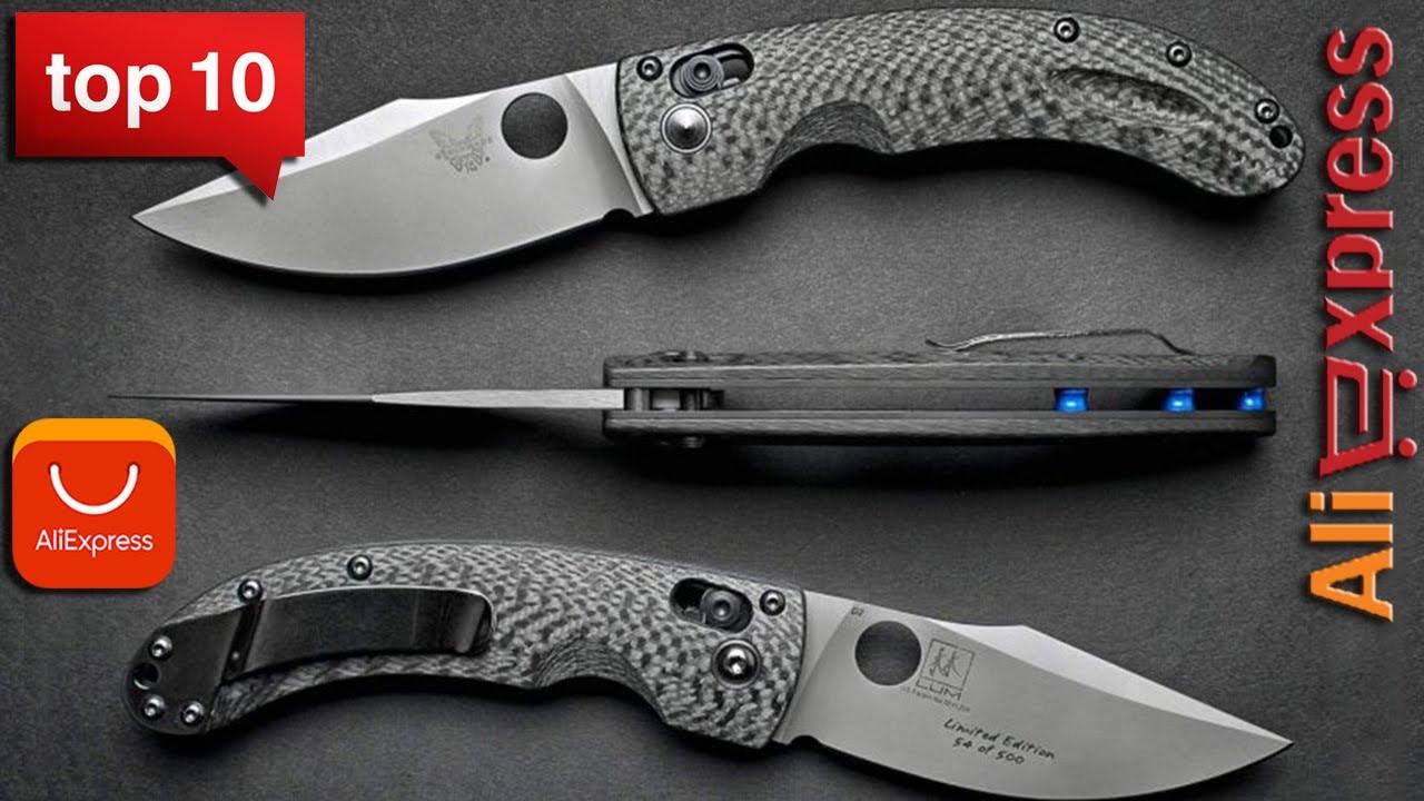 обзор складных ножей с алиэкспресс