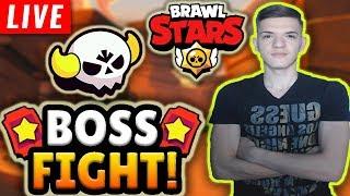 🔴[LIVE] PANA LA CE INSANE AJUNGEM LA BOSS FIGHT?! Brawl Stars Romania