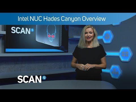 Unlocked Intel i7 Hades Canyon Radeon Vega VR Gaming NUC Mini PC Kit