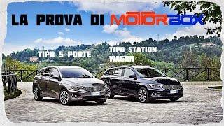 Fiat tipo 5 porte e station wagon: la prova di motorbox