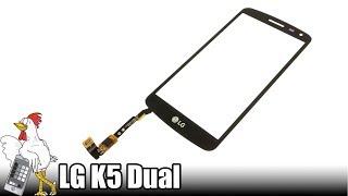 Guía del LG K5 Dual: Cambiar digitalizador