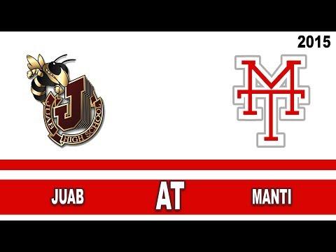 Football: Juab at Manti High School Utah 2015