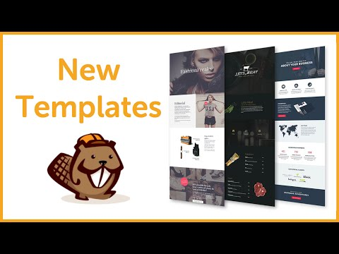 WP Beaver Builder New Page Templates Review 2016 – Best WordPress Page Builder