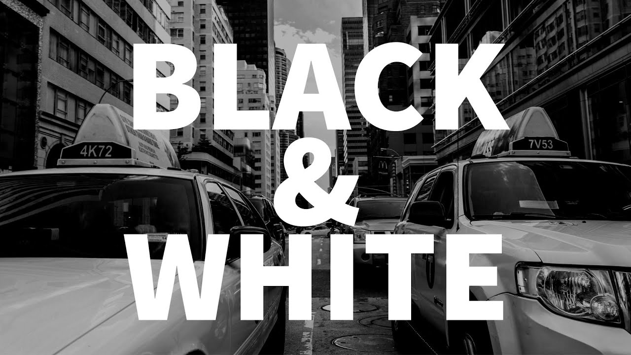 The best and worst ways to make your photos black white