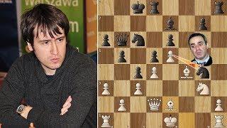 Kasparov is Furious after Losing to Radjabov's Brilliancy