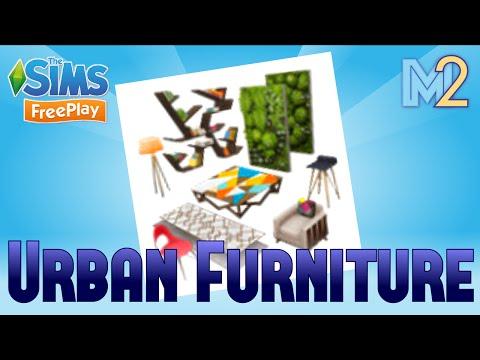 Sims FreePlay - Urban Furniture Event (Tutorial & Walkthrough)