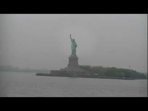The Statue of Liberty is alive! After Effects Test