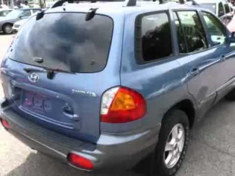 2003 Hyundai Santa Fe 4dr 2wd Auto 2 4l I4 Suv Bedford