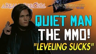 """Final Fantasy XIV Sucks! - """"The Most BORING Leveling Experience Ever""""... The Quiet Man MMO!!!"""