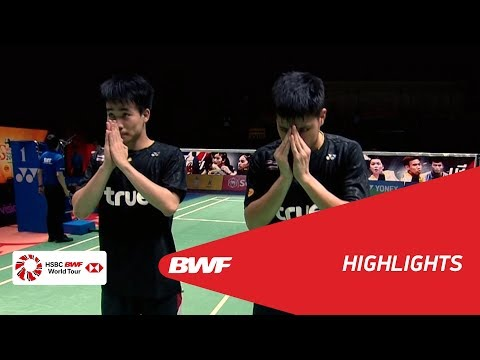 Princess Sirivannavari Thailand Masters 2018 | Badminton MD - SF 2 - Highlights | BWF 2018