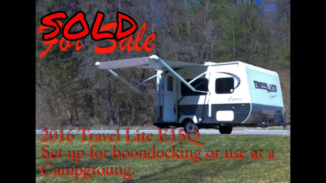 Travel Lite E15Q for Sale