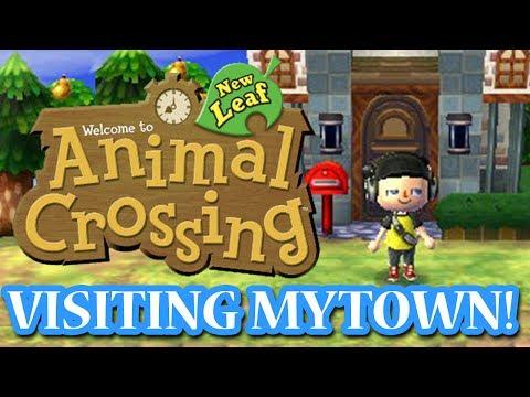 ANIMAL CROSSING NEW LEAF: VISITNG MY TOWN! (TheAverageJoe)