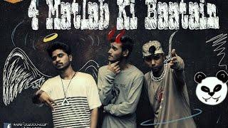 7K Gangsta- 4 Matlab Ki Baatein | New Hindi rap 2017| desiigner panda Refix.