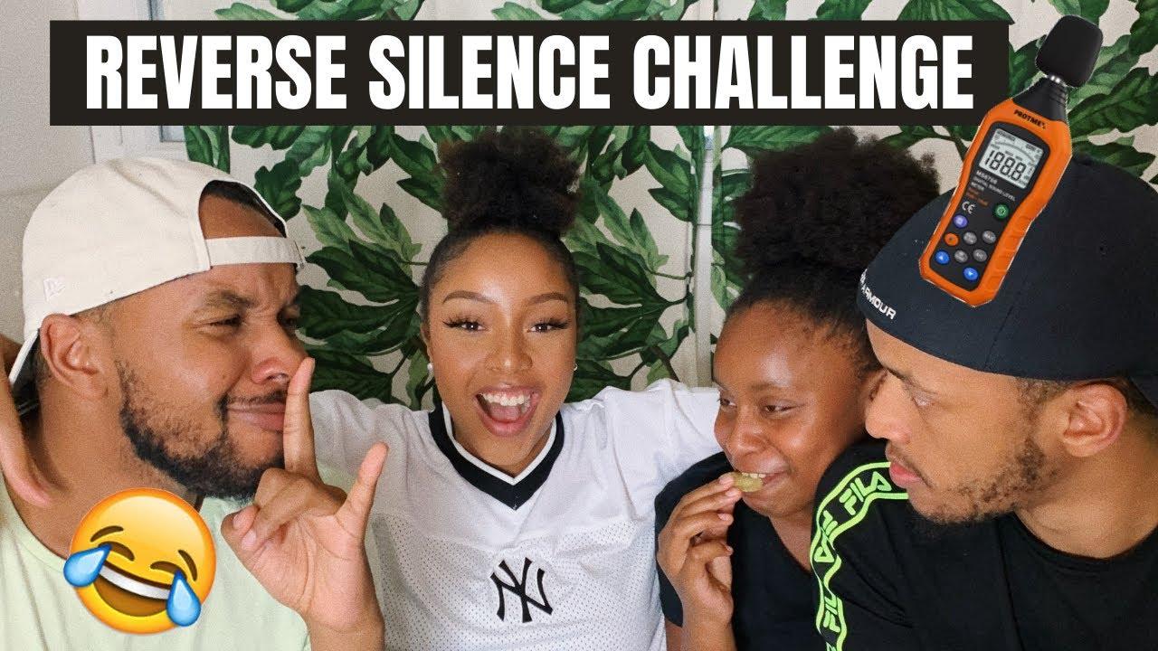 LE RETOUR ! C'EST LA GUERRE ! 😂 (Reverse silence challenge) l HONEYSHAY