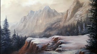Paint with Kevin Hill - Soft Mountain Range