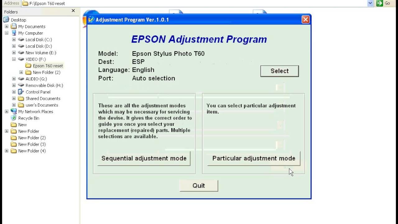 Epson Reset Key Generator
