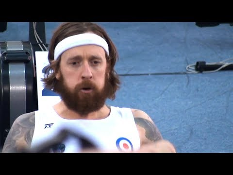 Sir Bradley Wiggins Makes Rowing Debut