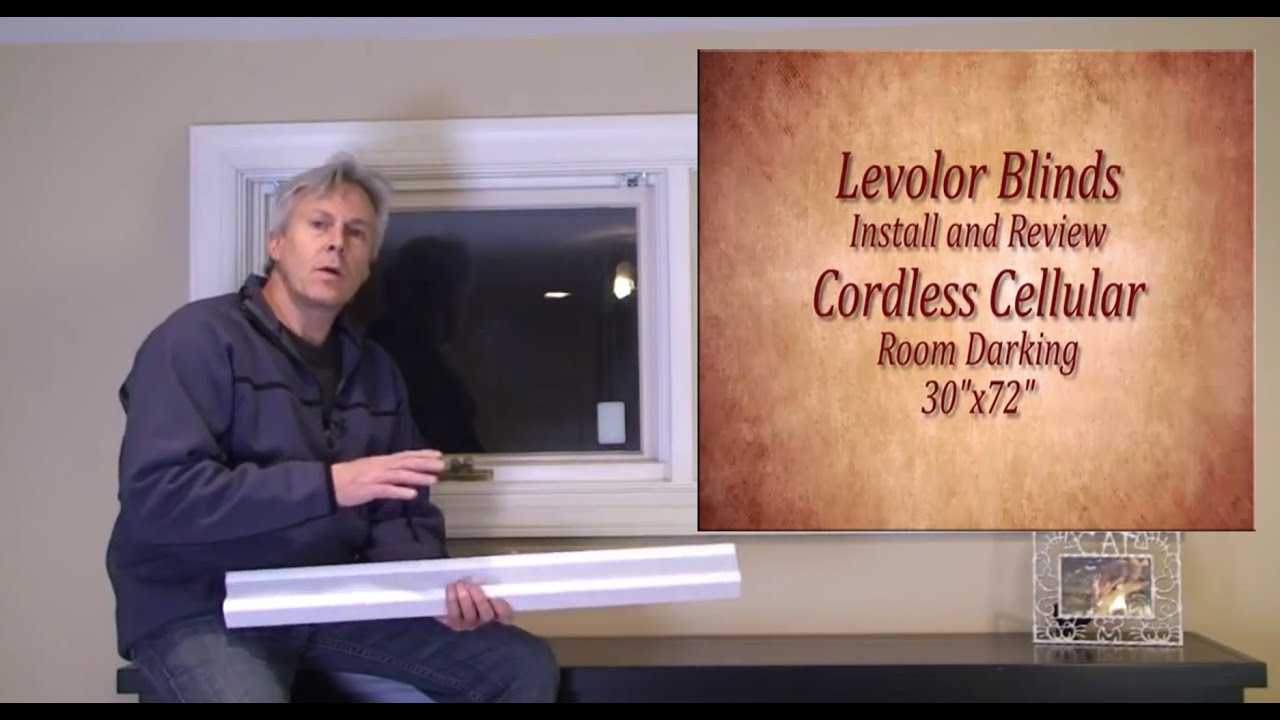 Levolor Blinds Easy Install And Review Youtube