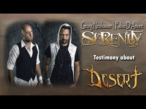 Georg and Fabio (SERENITY) testimony - Desert band - Crowdfunding Campaign