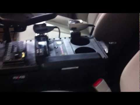 How To Upfit Your Ford Expedition Police Vehicle: Havis Console & Computer Mount
