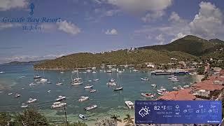 St. John VI - Live HD Webcam looking at Cruz Bay
