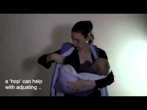 Breastfeeding In A Woven Wrap Youtube