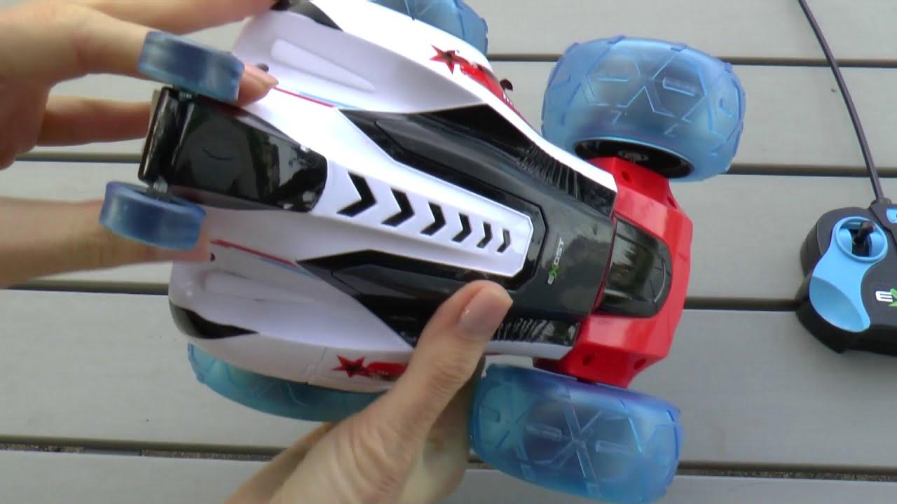 Машинка на пульте управления Испытание радиоуправляемой машинки Game Cars on the remote control