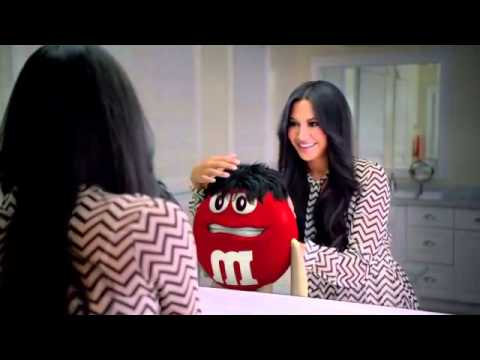 M M's Superbowl commercial 2013 I would do anything for love