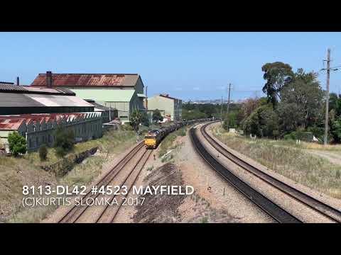 8113-DL42 #4523 Empty grain Mayfield 2-11-2017