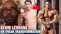 KEVIN LEVRONE: HOW I GAINED 40 LBS!