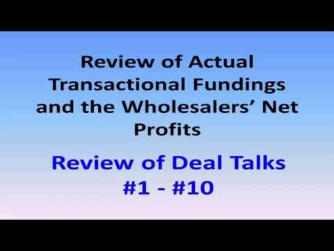 Deal Talks | Reviewed Using Transactional Funding For Wholesale Deals