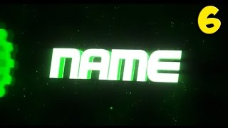 TOP 10 GREEN Blender Intro Template #6 + Free Download