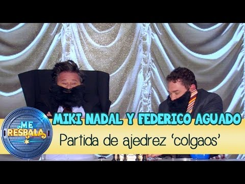 Me Resbala - Lo tuyo es muy Gravity: Federico Aguado y Miki Nadal