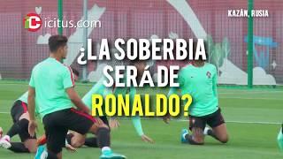 Vidal le da ¡CON TODO! a Cristiano Ronaldo en Rusia