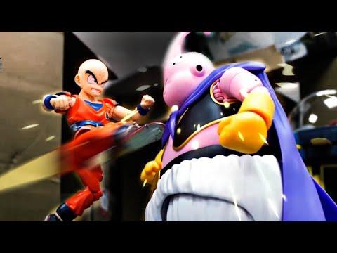 Dragon Ball Stop Motion - Buu VS Z fighters