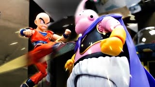 Dragon Ball Stop Motion - Buu VS Z fighters