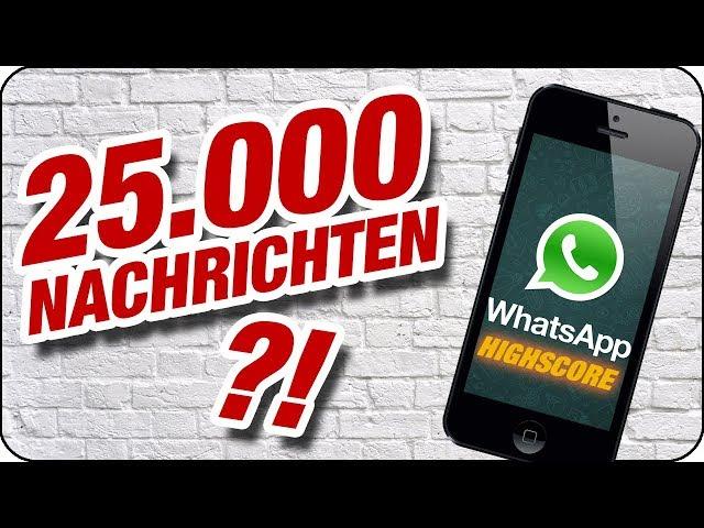 ER SCHREIBT DEM MÄDCHEN 25.000 NACHRICHTEN! 😱