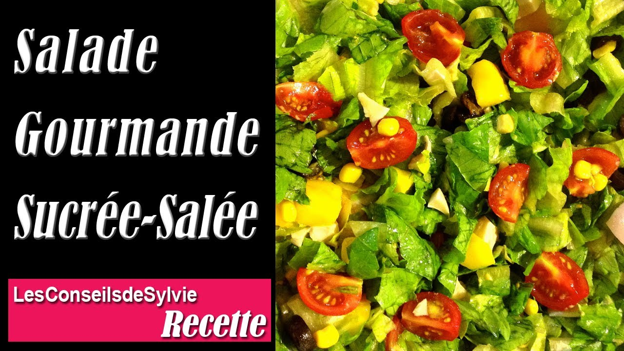 ep 84 recette salade gourmande sucr e sal e r quilibrage alimentaire r gime youtube. Black Bedroom Furniture Sets. Home Design Ideas