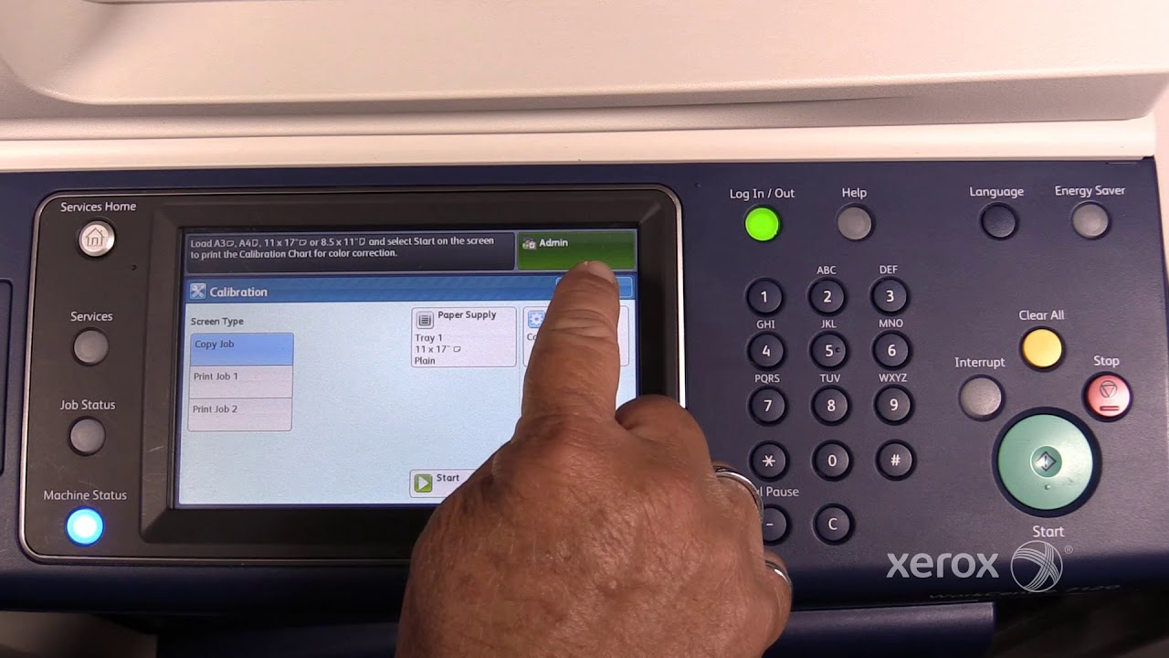 Xerox Workcentre 7120 7220 7225 Accessing Administrator Tools