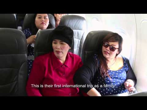 Big Sist and Mum travel to Singapore for Asia's Got Talent auditions