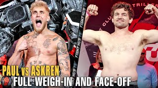 FULL WEIGH-IN | JAKE PAUL VS. BEN ASKREN