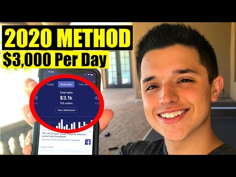 $0 To $3k Per Day Dropshipping in Under A Week (2020 METHOD) thumbnail
