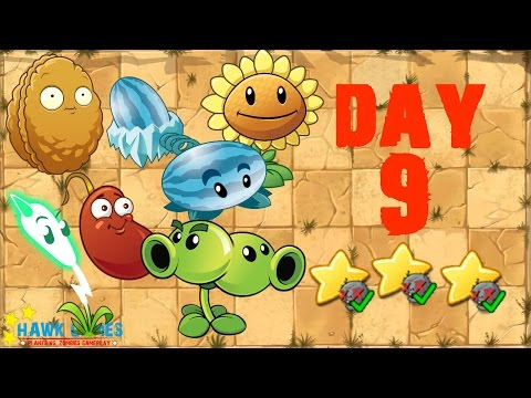 Plants vs. Zombies 2 China - Wild West Day 9 Locked and Loaded《植物大战僵尸2》- 狂野西部 9天 - 동영상