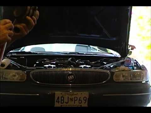 98 Buick Century Mass Air Flow Sensor Maf Cleaning Youtube