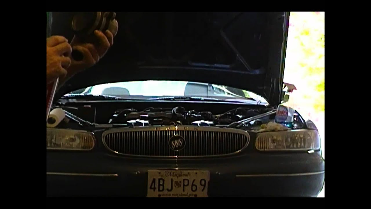 98 buick century - mass air flow sensor (maf) cleaning