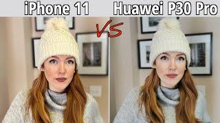 iPhone 11 VS Huawei P30 Pro EMUI 10 Camera Comparison!