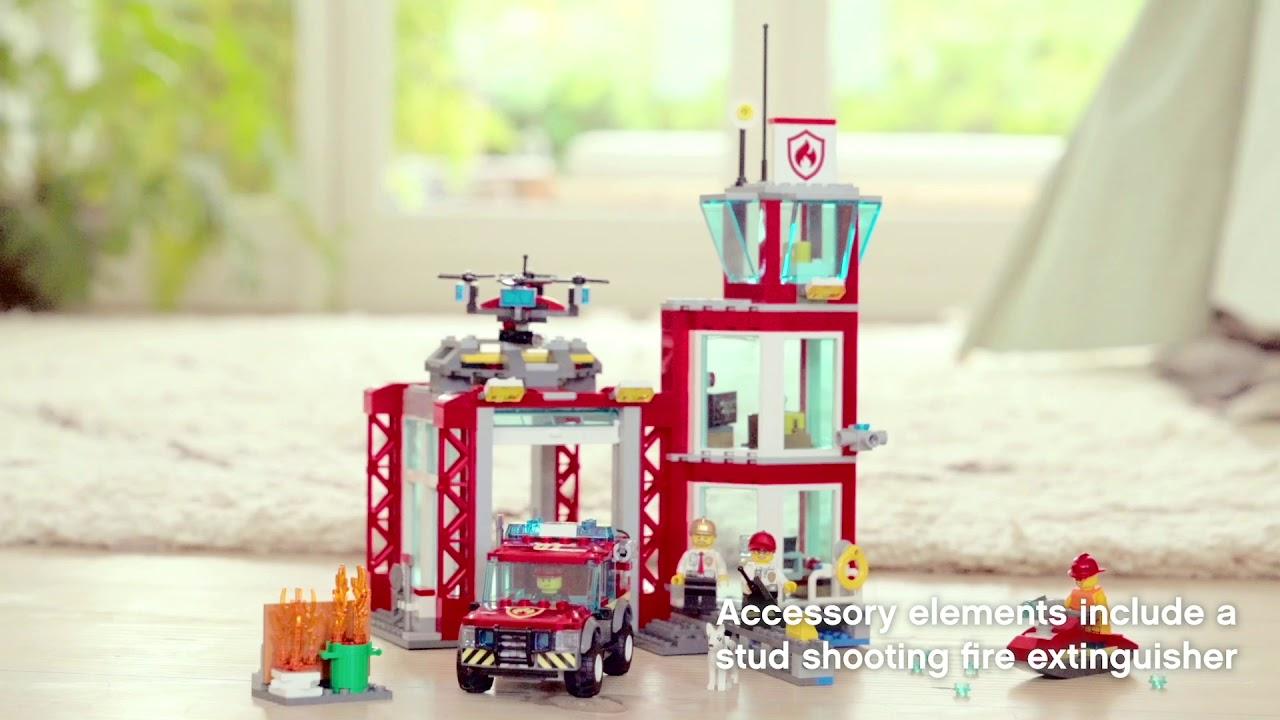 60215 Lego City Remiza Strażacka Fabryka Zabawek Youtube