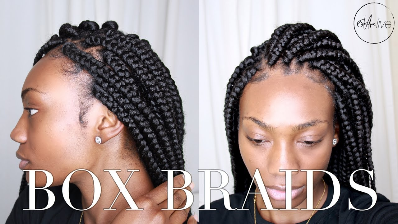 Box Braids Hairstyles Youtube: BOX BRAIDS! (PROTECTIVE STYLING FOR NATURAL HAIR